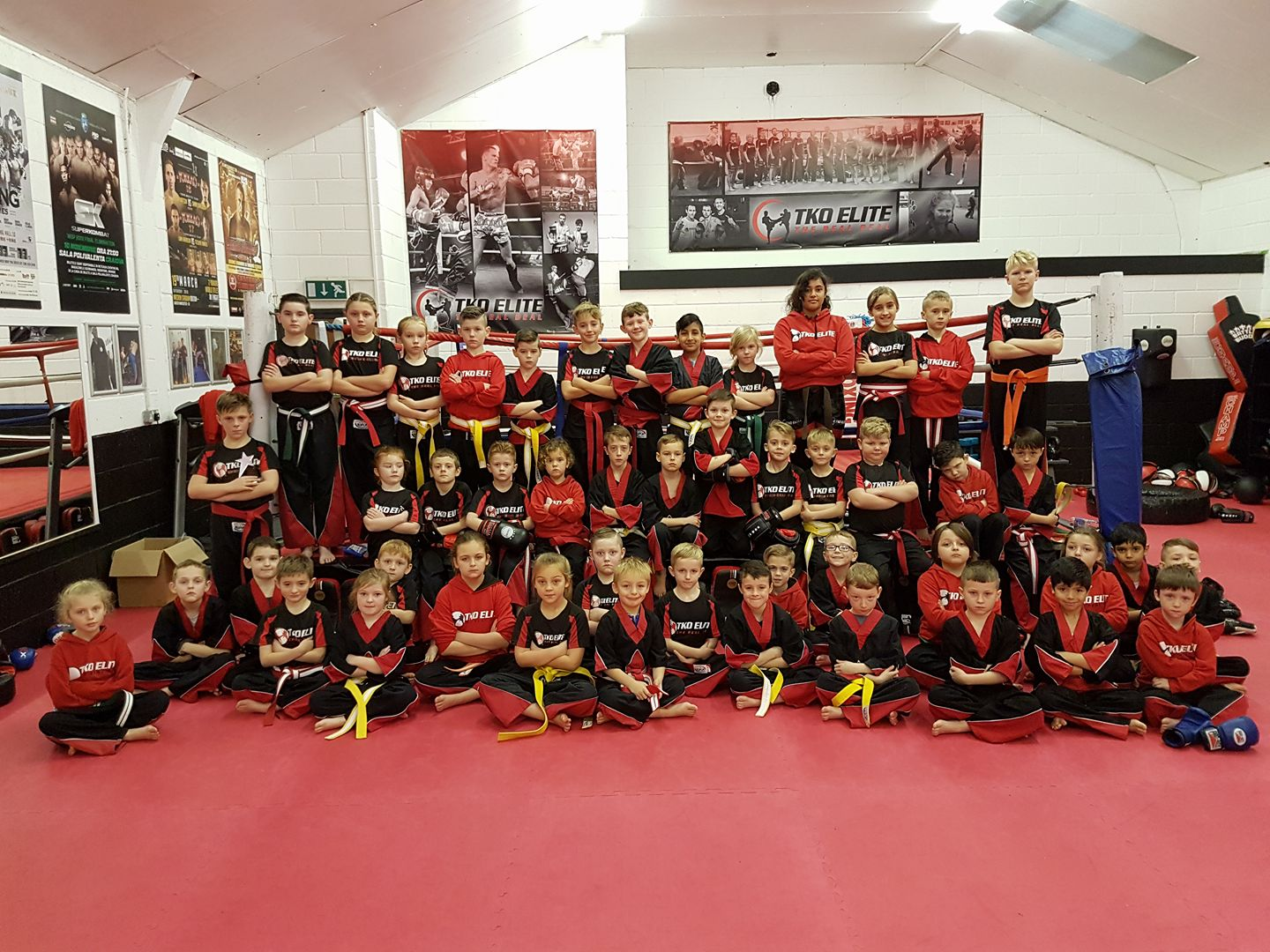 Junior children active kickboxing chatham