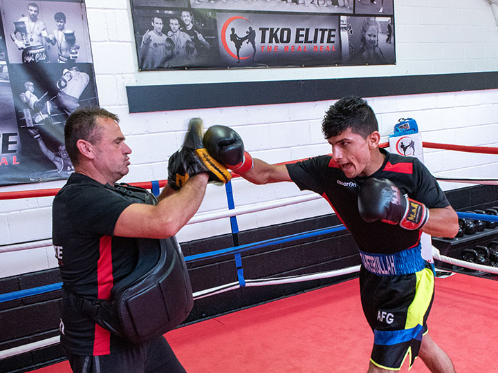 Boxing padwork chatham kent