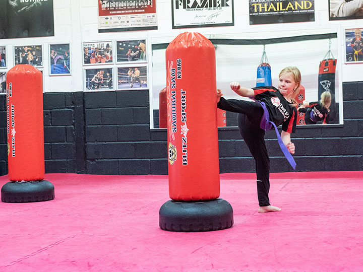 Junior kickboxing chatham